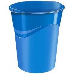 Papelera plastico Cep Azul de 14 litros