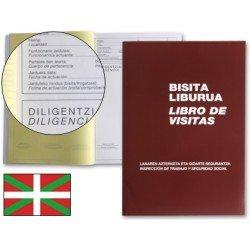Miquelrius Libro de visitas castellano-euskera tamaño Folio