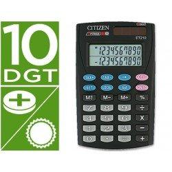 Calculadora Bolsillo Citizen ET-210 10 digitos