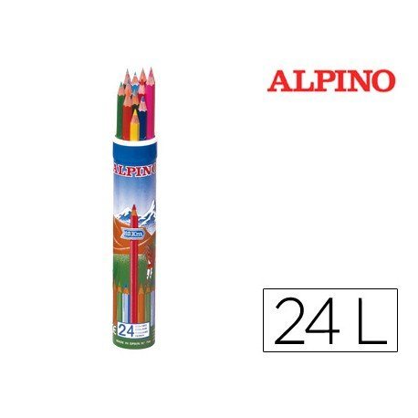 Lapices de colores Alpino