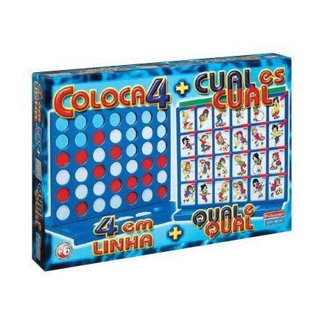 Cuatro en linea + Cual es cual Falomir Juegos