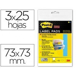 Etiqueta adhesiva Post-it ® Super Sticky Removible
