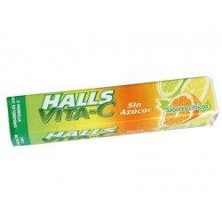 Caramelos Halls vitamina c