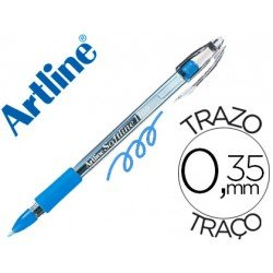 Boligrafo Artline 1700 Softline 0.7 mm color Celeste