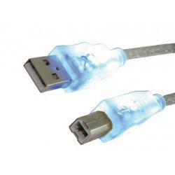 Cable usb 2.0 Mediarange longitud 1,8 metros para impresora tipo a-b