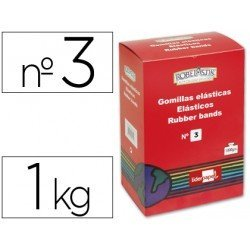 Gomillas elasticas Liderpapel N 3