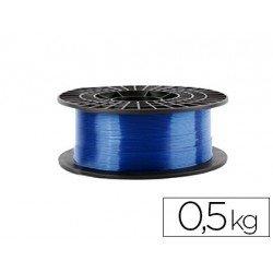 Filamento 3d Colido Gold translucido X PLA 1.75 mm azul
