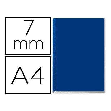 Tapa de Encuadernación Cartón Leitz A4 Azul 36/70 hojas