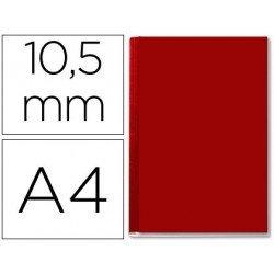 Tapa de Encuadernación Cartón Leitz A4 Burdeos 71/105 hojas