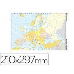 Mapa mudo Europa politico