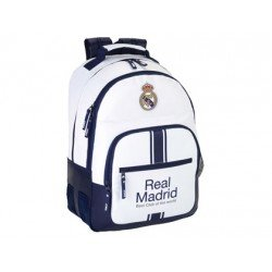 Mochila Doble Real Madrid Sin Carro 32x15x42 cm 1º equipacion