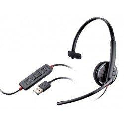 Auricular Plantronics Blackwire C310 con Microfono Negro