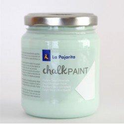 Pintura Acrilica La Pajarita Efecto Tiza Mint 175 ml Chalk Paint