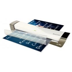 Plastificadora Leitz DIN A3 con 2 Rodillos hasta 125MC Plata
