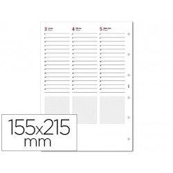 Recambios Agenda Finocam Semana Vista 155x215mm