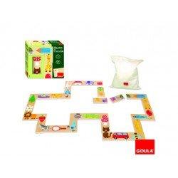 Puzzle Gigante de objetos 28 piezas a partir de 1 año marca Goula