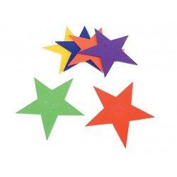 Estrella de caucho antideslizante set de 6 unidades marca Amaya
