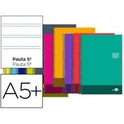 Bloc Cuarto Liderpapel serie Discover pauta 2,5 mm