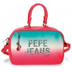 Bolso de viaje 37x25x15 cm en Piel Sintética Pepe Jeans Nicole