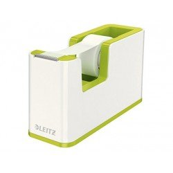 Portarollos sobremesa Leitz Wow Plastico para cinta de 33m Verde