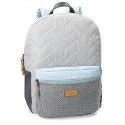 Mochila Pepe Jeans 32x42x16 cm en Poliéster Ripple Adaptable a maleta