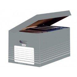 Cajón de carton Elba Definitivo gris