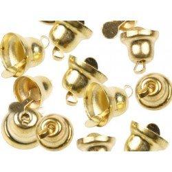 Campana de Metal Oro Tamaños surtidos