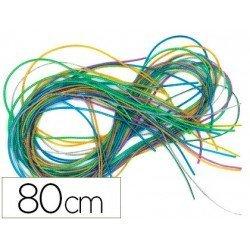 Cordoncito de plastico 80 cm Colores Surtidos marca itKrea