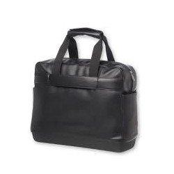 "Maletin para portatil 15"" Moleskine bolsillo exterior Negro"