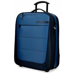 Maleta de cabina 55x39x20 cm Blanda con 2 ruedas Movom Detroid Azul