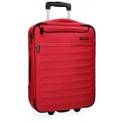 Maleta de cabina 55x40x20 cm Blanda con 2 ruedas Movom Nairobi Rojo