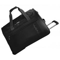 Bolsa de viaje 55x35x25 cm en Eva Movom Manhattan Negra con ruedas
