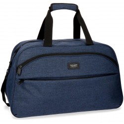 Bolsa de viaje 55x35x25 cm en Poliéster Movom Ottawa Azul