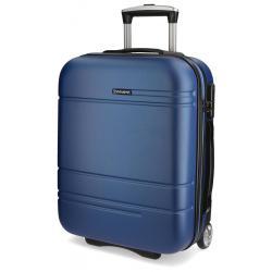 Maleta de cabina de 55x40x20 cm Rigida Movom Galaxy 2 Ruedas Azul