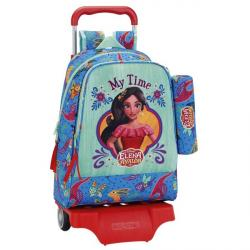 CARTERA ESCOLAR CON CARRO SAFTA ELENA DE AVALOR 330X420X150 MM