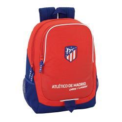 Mochila Escolar Atlético de Madrid 44x32x16 cm Adaptable a carro