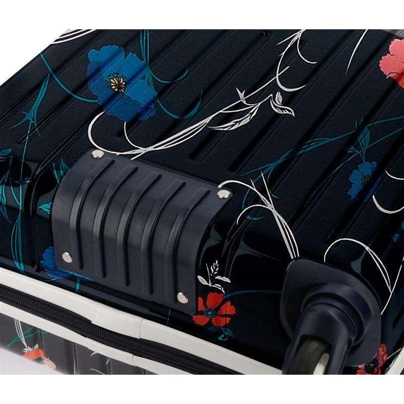 96bf006c1 Maleta de cabina 55x40x20 cm Rígida Pepe Jeans Pasqui negra (7197761)