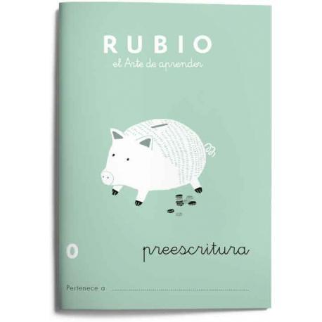 Cuaderno Rubio Escritura nº 0 Preescritura con puntos, dibujos y grecas 20 páginas