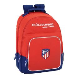 Mochila Escolar Atlético de Madrid 42x32x16 cm Adaptable a carro