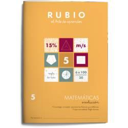 Cuaderno Rubio Matemáticas Evolución nº 5 Porcentajes: concepto, operaciones básicas y problemas