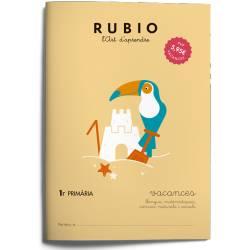 Cuaderno Rubio Vacances 1º Primaria Catalán