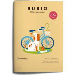 Cuaderno Rubio Vacances 2º Primaria Catalán