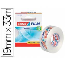 Cinta adhesiva Tesa Film Cristal 33m x 19mm
