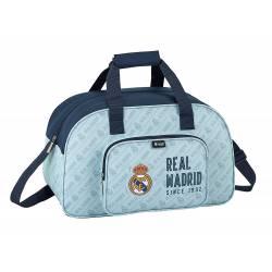 Bolsa Deporte Real Madrid 40x24x23 cm Azul Celeste
