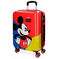 Maleta de Cabina en 55x40x20 cm Rigida Mickey Red