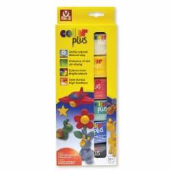 Arcilla Sio-2 paquete de 6 colores surtidos 75 g