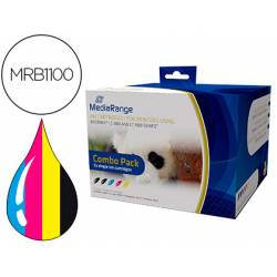 Cartucho compatible Brother LC-980/LC-1100 Multipack MRB1100